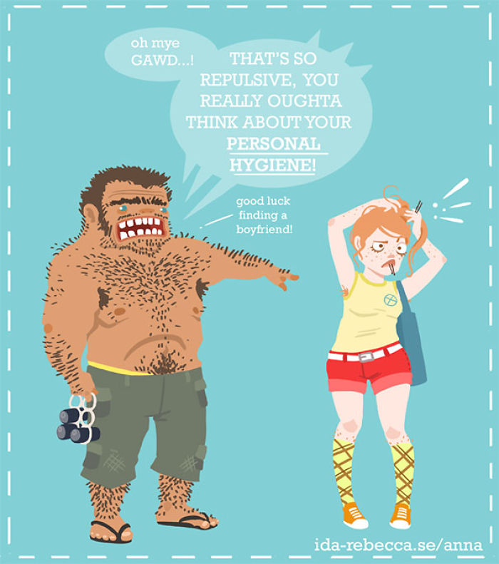 Funny Shaving Comic