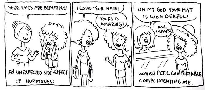 Gender Transition Comics