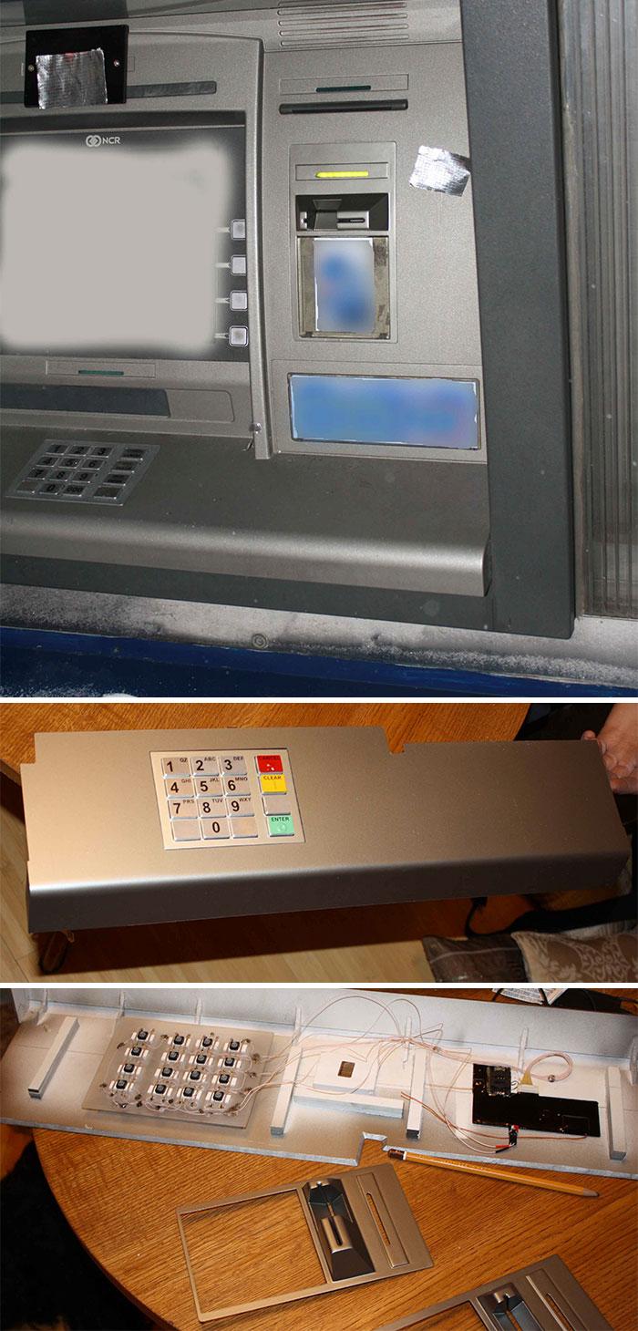 ATM Skimmer Transmits Stolen Data Via Text Message