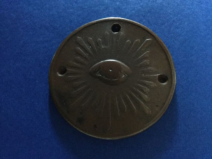 Old Bronze Medallion My 87-year-old Dad Carried For Most Of His Life. It's Now Mine To Carry.