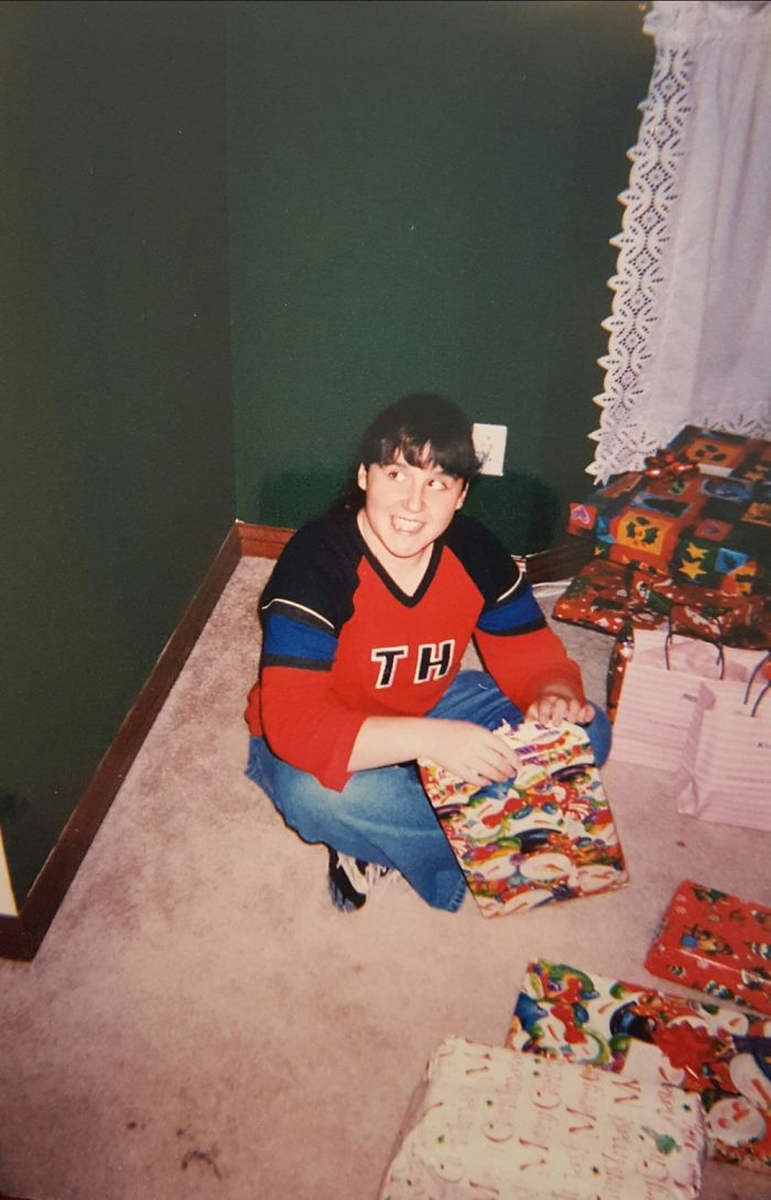 Those Bangs...and I Thought I Was So Cool In My Tommy Shirt