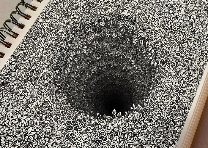 This Cambodian Artist Is Taking Doodling To Another Level