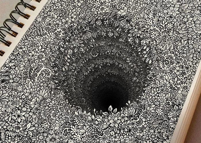 Este artista camboyano lleva el hacer dibujitos a otro nivel
