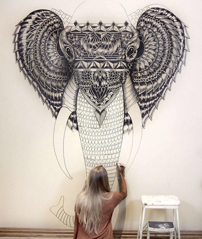 Wall Art Bedroom Drawings