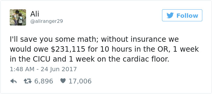 Mom Shares Her Son's Crazy Surgery Bill To Show What Will Happen Under Trumpcare