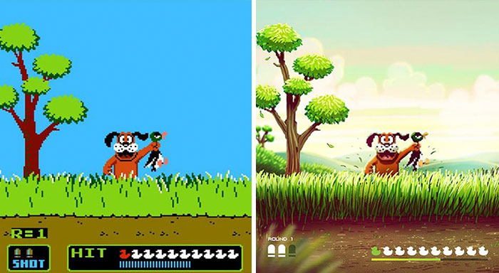 Artist Takes Old NES Games' Look To Another Level In Photoshop