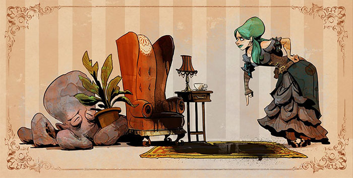 Disney Illustrator Imagines A Life With A Pet Octopus, And It's Just Too Adorable (79 Pics)