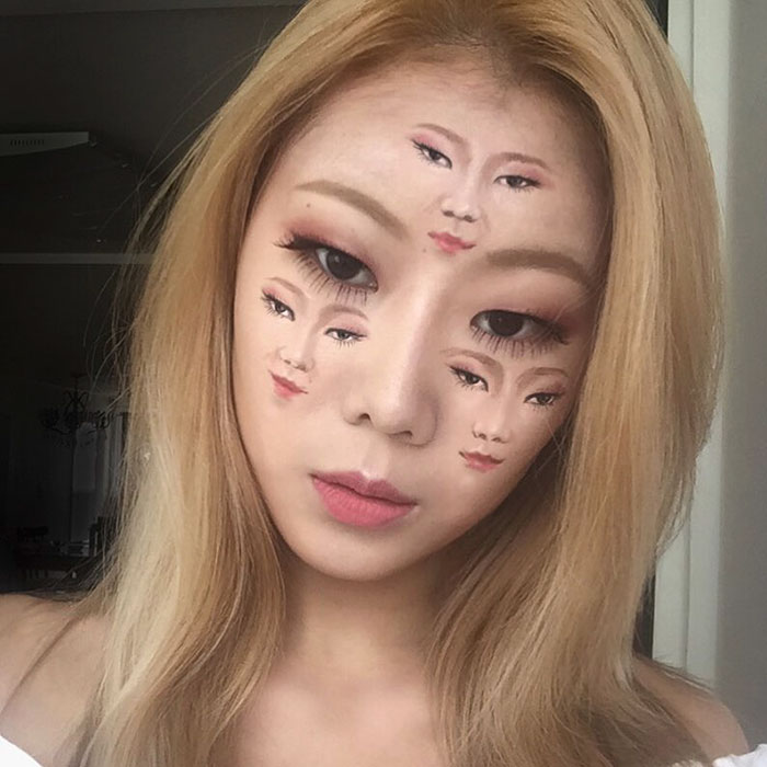 What This Woman Does To Her Face Will Make You Look Twice