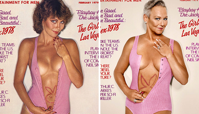 7 Playboy's Playmates Recreate Their Own Magazine Covers Around 30 Years Later