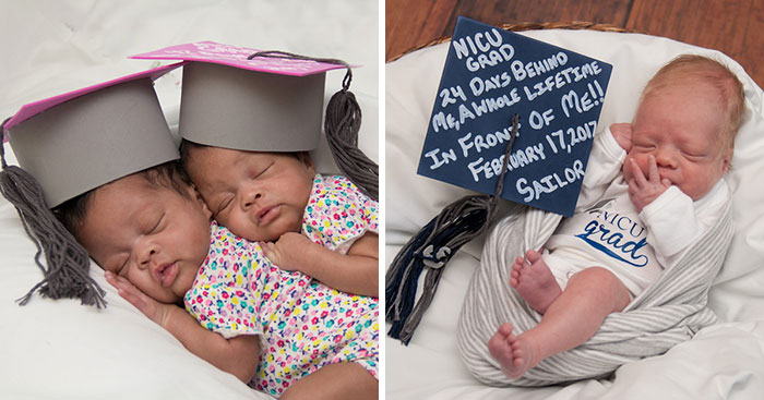 Awesome Hospital Organizes Graduation Ceremonies For Premature Babies Leaving Intensive Care