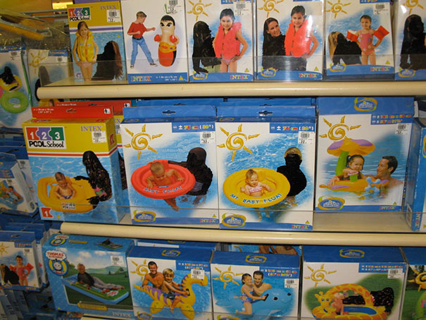 Censored Floaties In Saudi Arabia