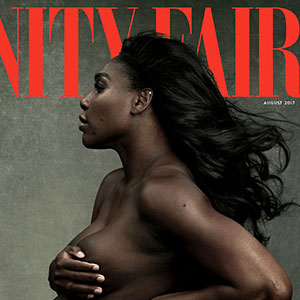 Serena Williams Poses Topless As Pregnant Goddess For Vanity Fair, And Some People Find It