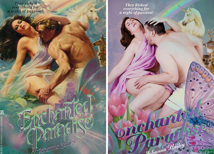 Regular People Recreate 10 Corny Romance Novel Covers And It's Hilarious