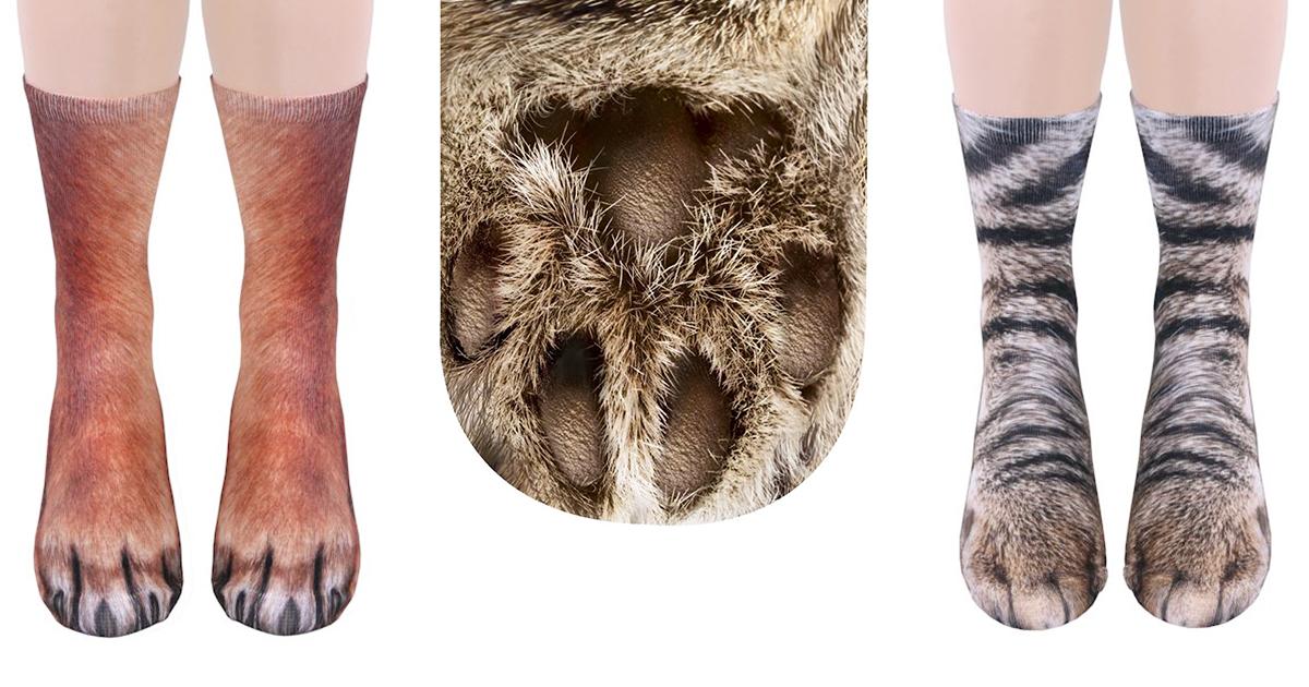 Cat Paw Socks Uk