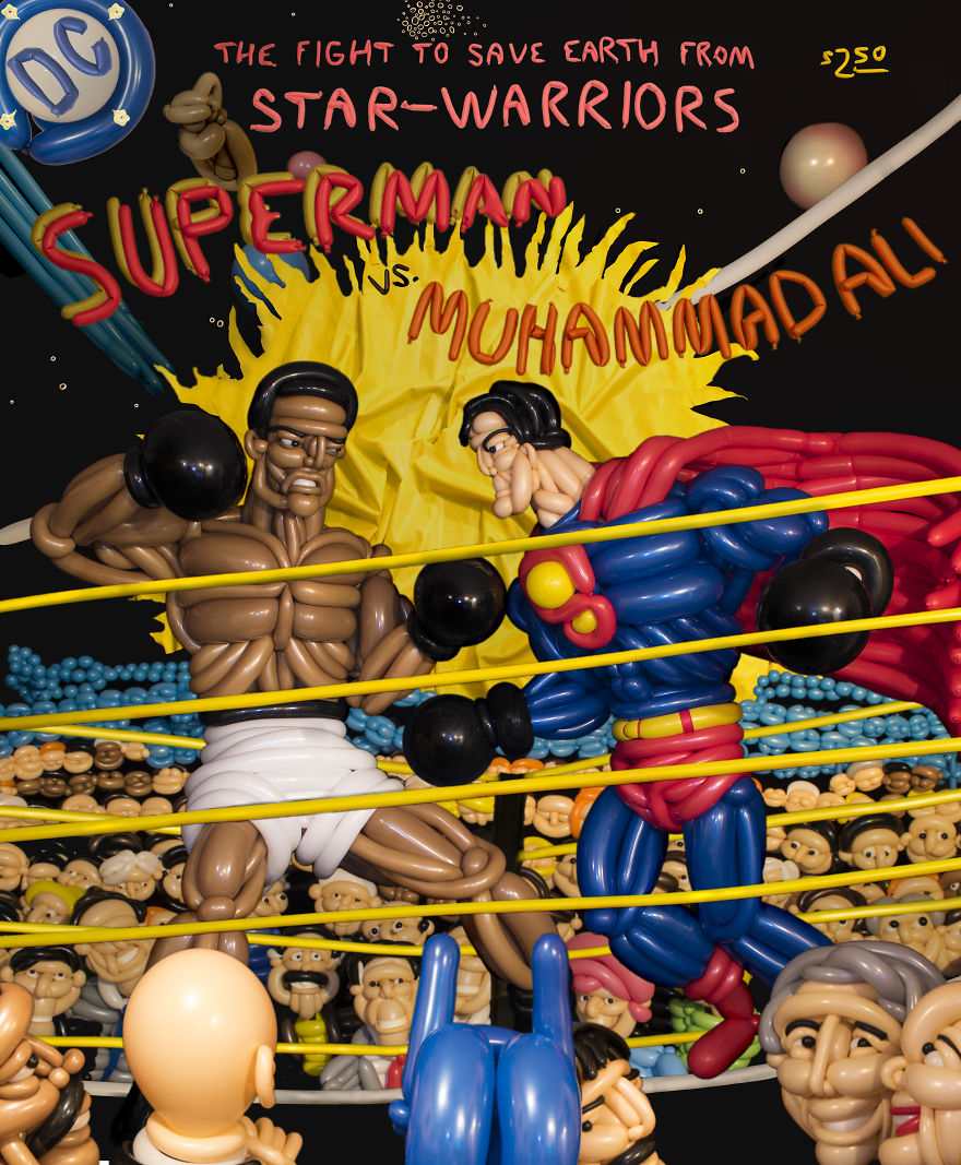 Superman Vs Muhammed Ali
