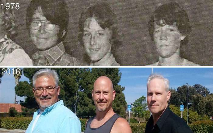 My Friends Sam, Shawn And Myself (ron), Friends For 4 Decades.