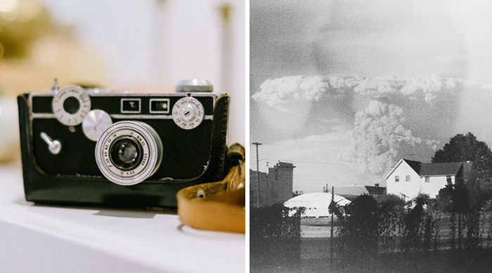 Woman Buys Old Camera In Thrift Store, Develops Its Film, And Discovers Mt. St. Helens Eruption Photos