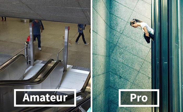 """Amateur Vs. Profesional: Lo diferente que parece el mismo sitio """"feo"""" cuando un fotógrafo pro lo retrata"""