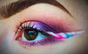 Unicorn Eyeliner Is A Thing Now And It Looks Extra Magical