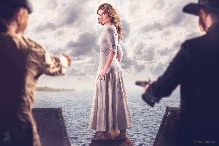 Elizabeth Swann de Piratas del Caribe