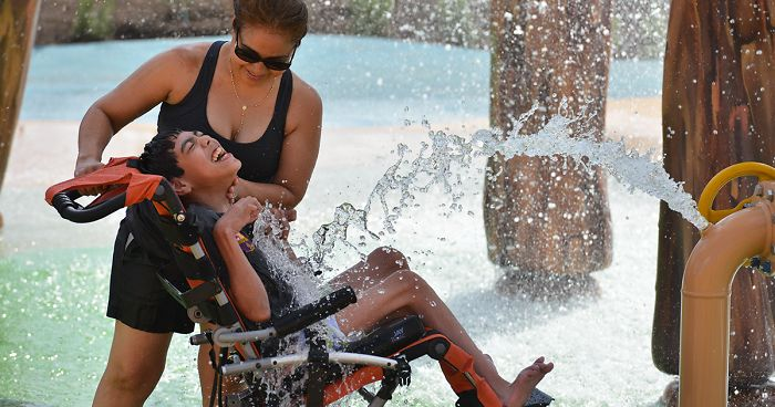 The World S First Water Park For People With Disabilities