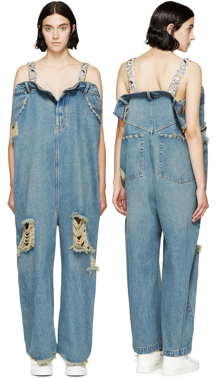 $1,425. Oversized Jumpsuit