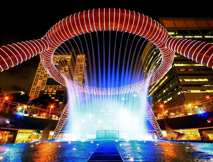 Fuente de la riqueza, Suntec, Singapur