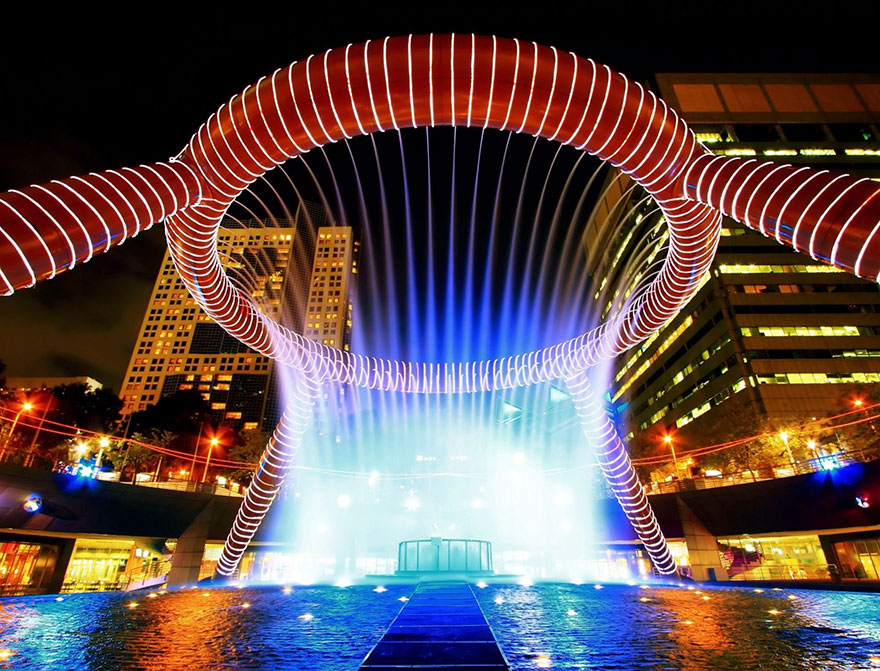 The Fountain Of Wealth, Suntec City, Singapore