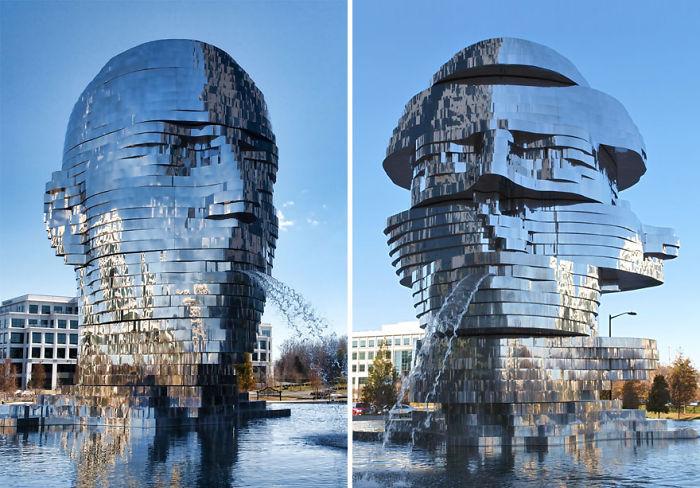 Fuente 'Metalmorphosis', Charlotte, EEUU