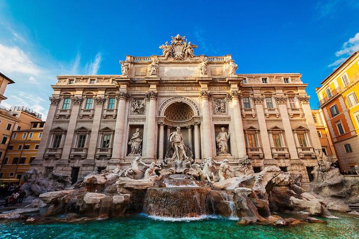 Fontana de Trevi, Roma, Italia