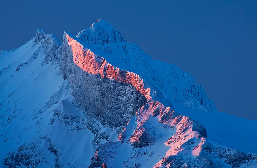 First Light In The Tatra Mountains