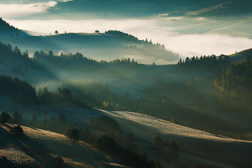 The Pieniny Mountains