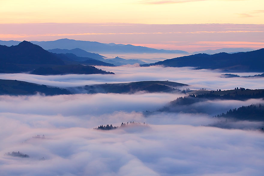Before Sunrise In The Pieniny Mountains