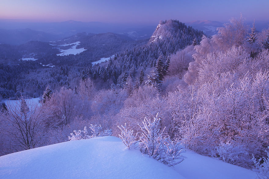 Winter In The Pieniny Mountains
