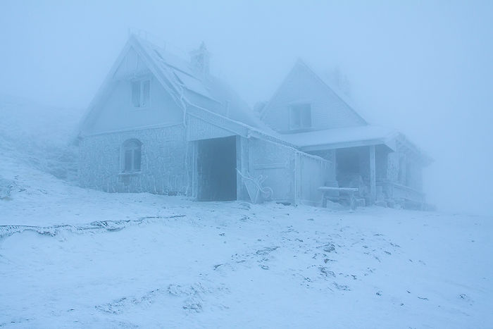 A Shelter In The Bieszczady Mountains
