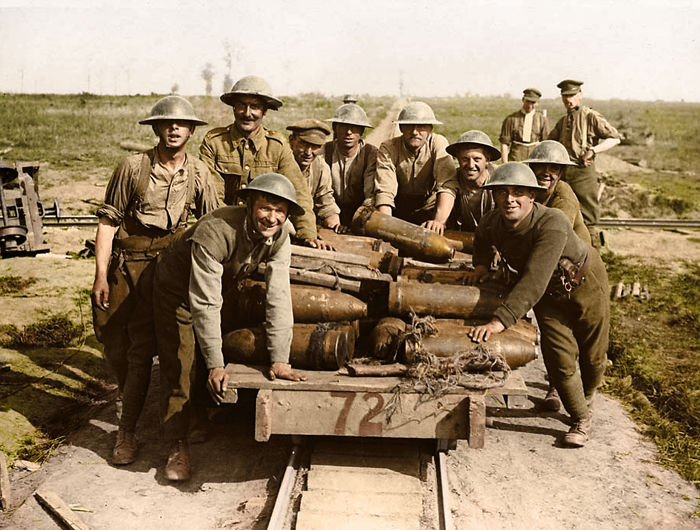 I've Colourised These Images Of Passchendaele To Mark Its 100th Anniversary
