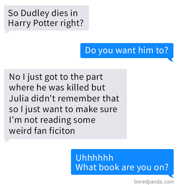 Guy Discovers He's Been Reading NSFW Harry Potter Fan Fiction