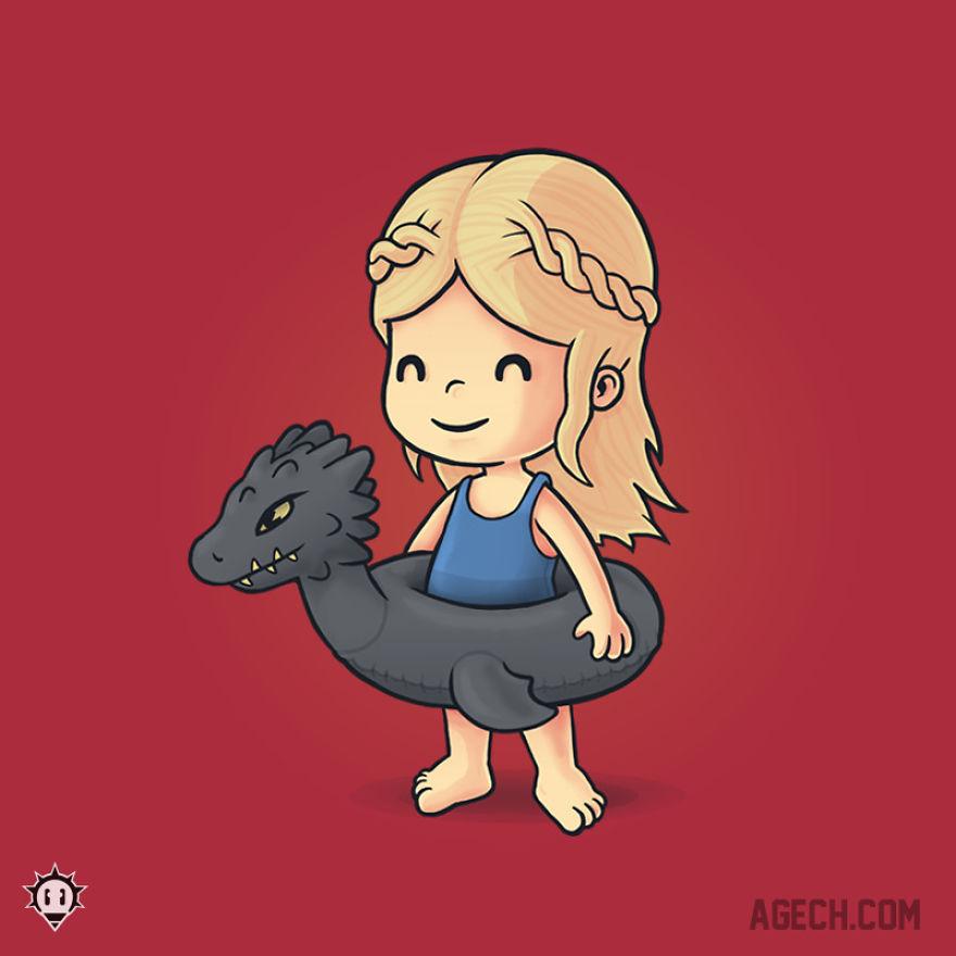 Daenerys Targaryen, Mother Of Floats...