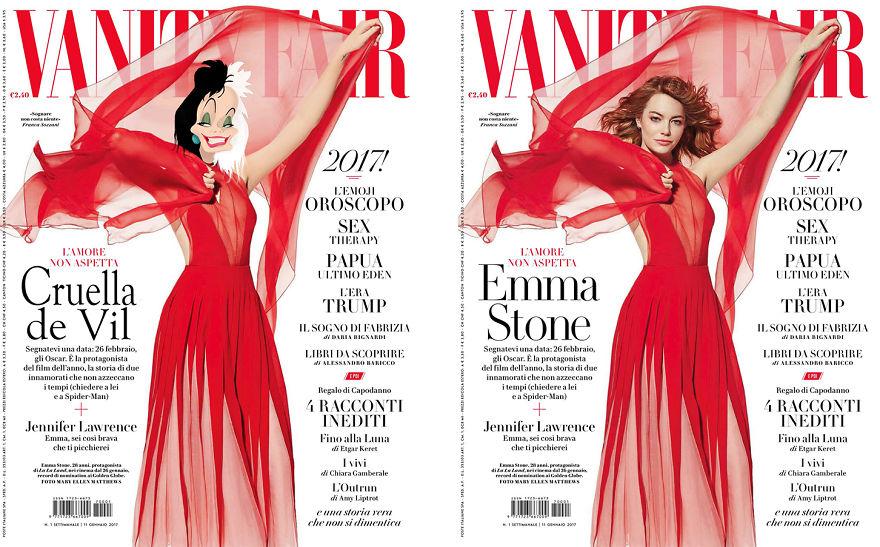 Cruella De Vil As Emma Stone