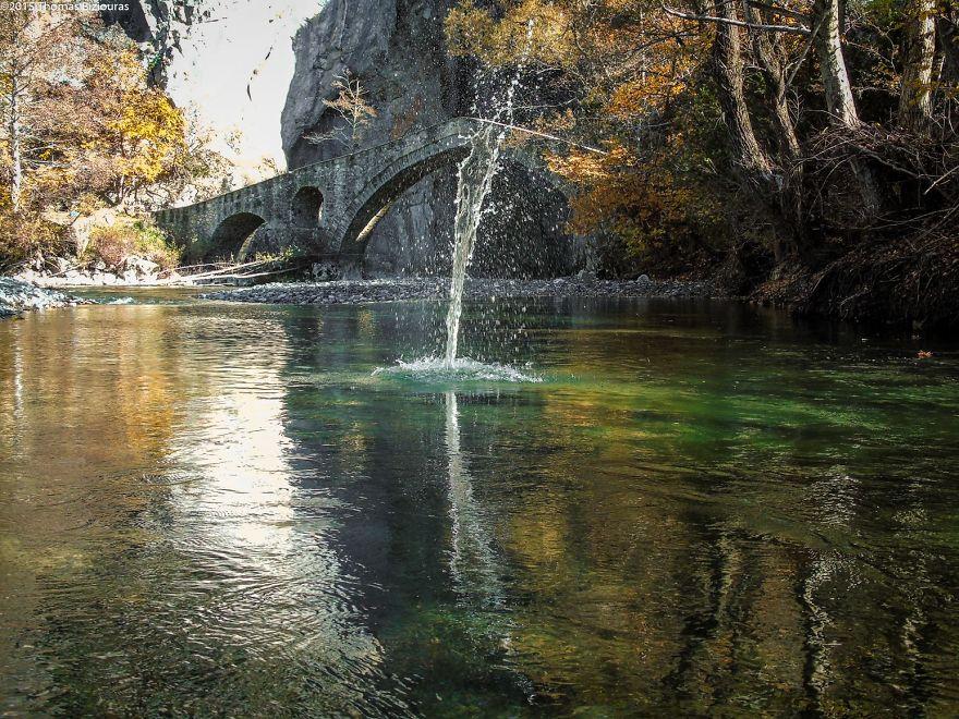 Portitsa-Gorge
