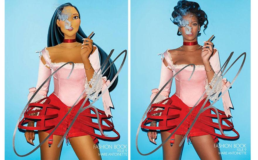 Pocahontas As Rihanna