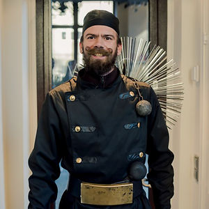 A Chimney Sweep From Tallinn, Estonia