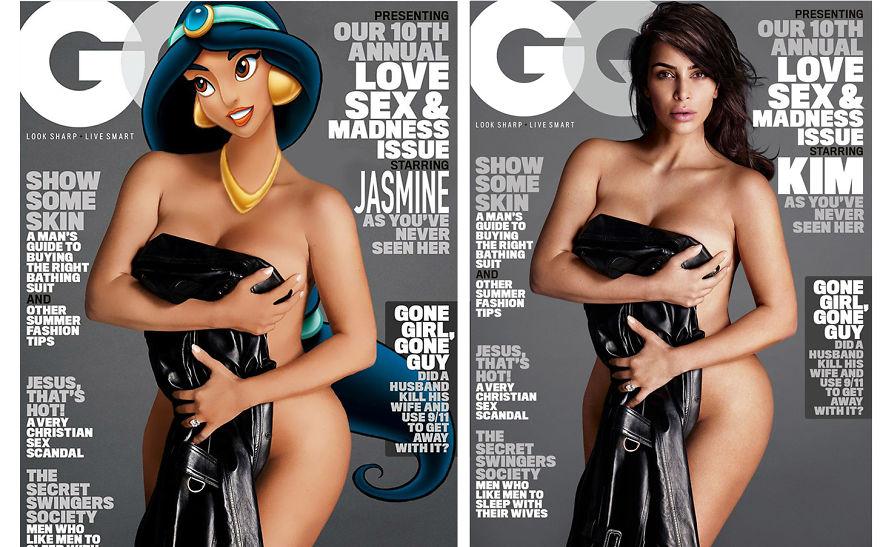 Jasmine As Kim Kardashian