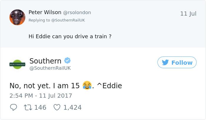 Railways Twitter