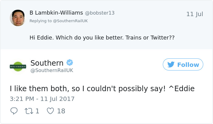 Railways Twitter