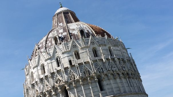 The Lesser-known Leaning Baptistery Of Pisa