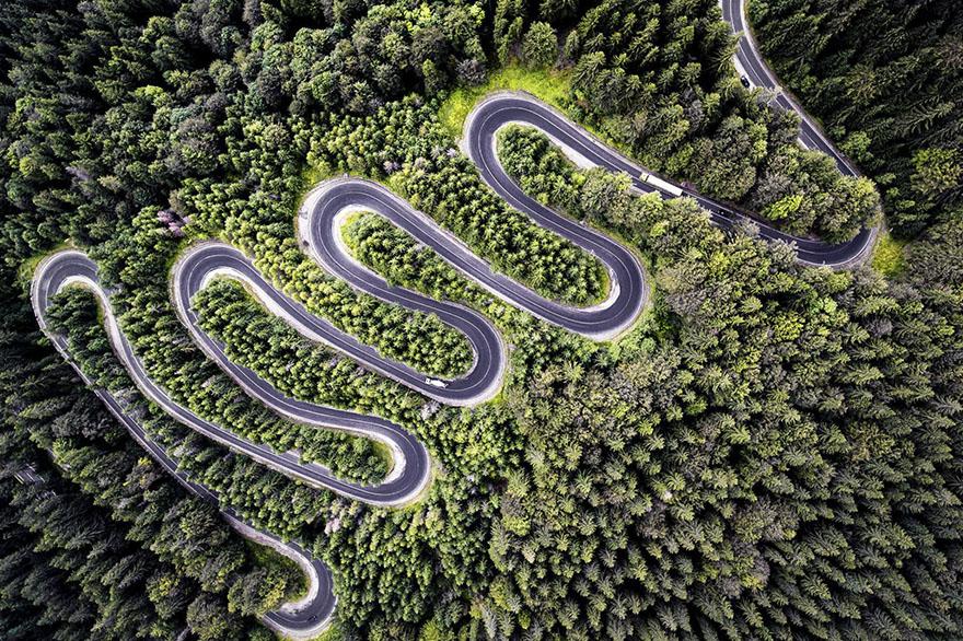 Infinite Road To Transylvania, Romania (Nature - 2nd Place)