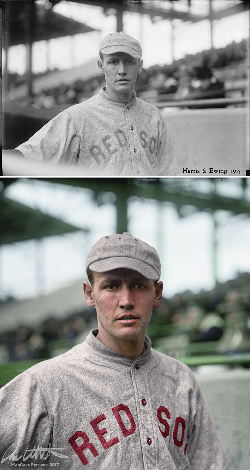 """Smokey"" Joe Wood. Boston Red Sox, 1915"
