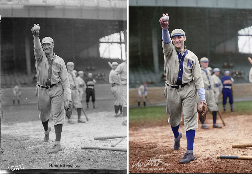 "Alva ""Rip"" Williams. Washington Nationals, 1912"