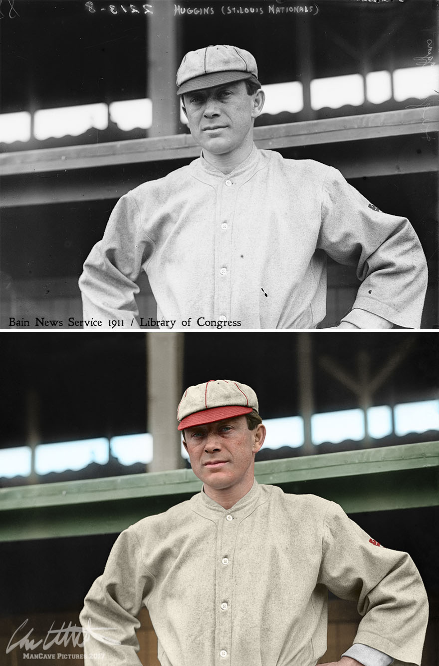 Miller Huggins. St. Louis Cardinals, 1911